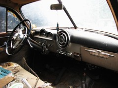 1951 PONTIAC EIGHT DASH IN 2010 (richie 59) Tags: pontiac 2010 oldpontiacs oldpontiac pontiacs miltonny milton sep52010 sep2010 1951pontiaceight 1951pontiac pontiaceight metaldashboard amradio dashboard steeringwheel frontseat allmetal carinterior clunkers 1950scars 1950scar 4door abandoned fourdoor abandonedcar abandonedcars americancar americancars car cars chrome country drives gm gmcar gmcars hudsonvalley junkcar junkcars midhudsonvalley newyorkstate nystate obsolete oldcar oldcars oldrustycar oldrustycars outside richie59 rustycar rustycars rustyoldcar rustyoldcars ulstercounty ulstercountyny uscar uscars pontiacsedan 4doorsedan oldsedan sedan rustypontiac motorvehicles blackcars blackcar generalmotors automobiles automobile america usa us summer pontiacoaklandclub