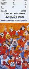 football ticket tampabaybuccaneers neworleanssaints