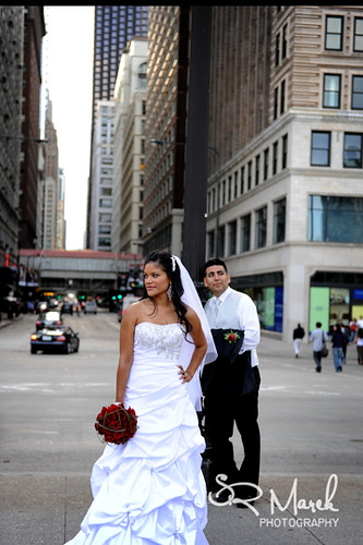 Bride/Groom in Chicago