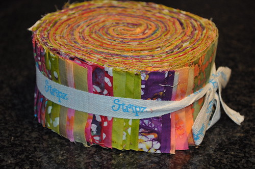 Jelly Roll for Fat Quarterly Sew Along