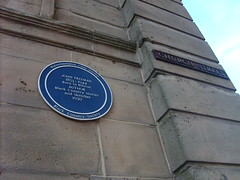 Photo of John Freeman blue plaque
