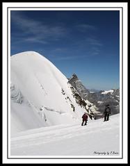 Aria Sottile (Bonfab1976) Tags: alps monterosa alpinismo alpi ghiaccio breithorn cordate alpinisti mountaisnaps