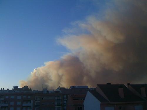 Incendi Serra Simat de Valldigna