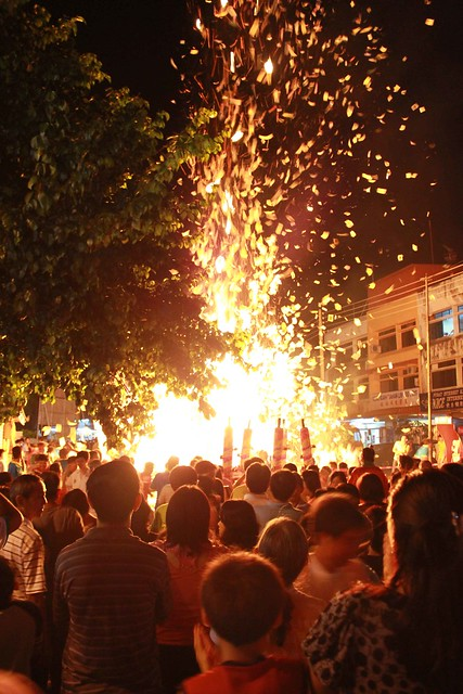 Chinese Families Celebrate the Hungry Ghost Festival