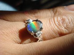 ring_sunlight (caignacio) Tags: engagement maui ring 2010 resized whitegold ammolite nahoku