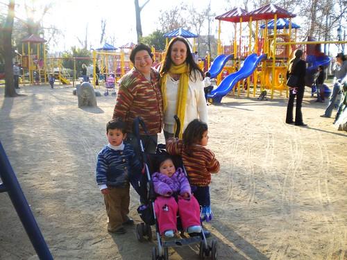 Con Greisi y sus niños