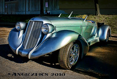 One of a kind (Angiezpics) Tags: old classic car silver custom carshow sweetride backtothe50s mnstatefairgrounds