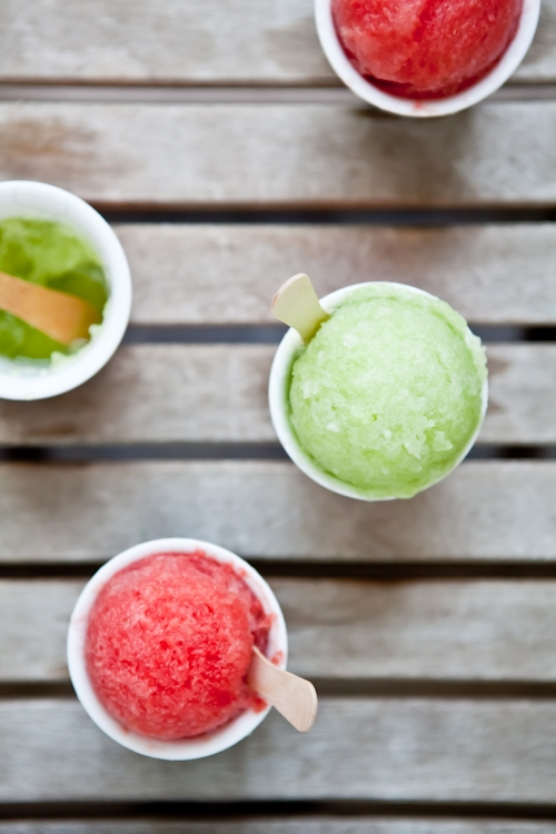 Watermelon & Honeydew sorbet