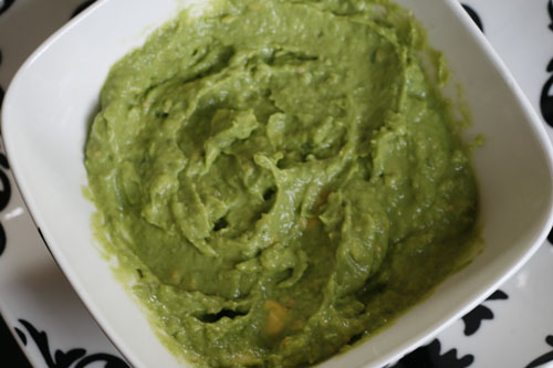 Tomatillo Guacamole (and Positivity in Eating)