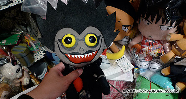 A character from the manga/anime, Deathnote