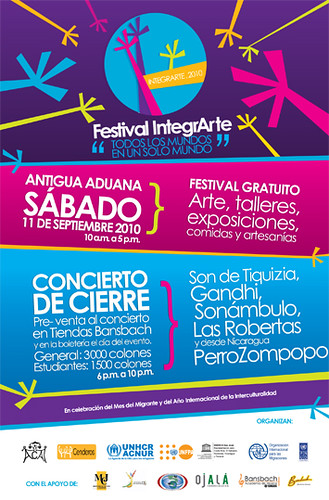 Festival IntegrArte 11 de setiembre 2010