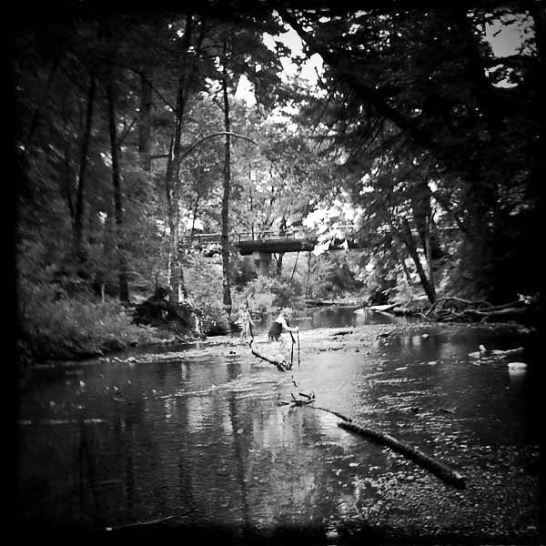 summer scrapbook :: camping at samuel p taylor...