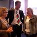 Caroline Hewitt, Bill Hill and Fiona Morris