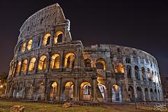 Roman Colosseum - Rome Italy (DiGitALGoLD) Tags: roma night nikon long exposure italia shot roman amphitheatre colosseum flavio nikkor f28 hdr d3 anfiteatro 2470mm flavian romancolosseum 2470 digitalgold