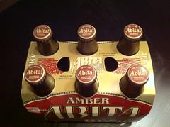 Abita Amber Six Pack Overhead