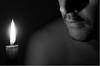39 for one candle - Una candela per 39 (Robyn Hooz) Tags: birthday italy self canon fire italia candle tripod september burn autoritratto 12 compleanno settembre 39 candela ef fuoco auguri padova fiamma 1740l candelina treppiede 550d mywinners robynhooz