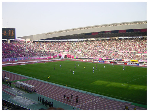 長居スタジアム・試合中@セレッソ大阪 VS ガンバ大阪_201003