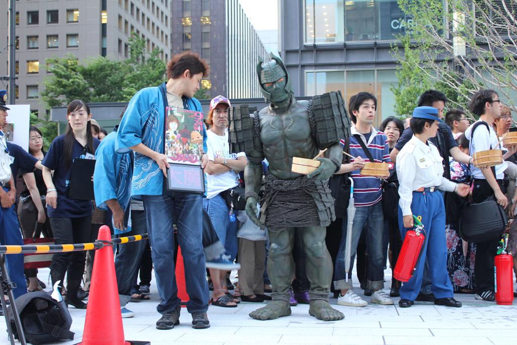 Uchimizu event in Marunouchi (4)