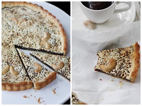 Date and Cashew Tarte