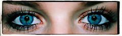 In your blue eyes, I walked away (Kelly Bakker) Tags: blue netherlands closeup photography big eyes nikon blauw shadows nederland kelly mascara ogen bakker grote d3000
