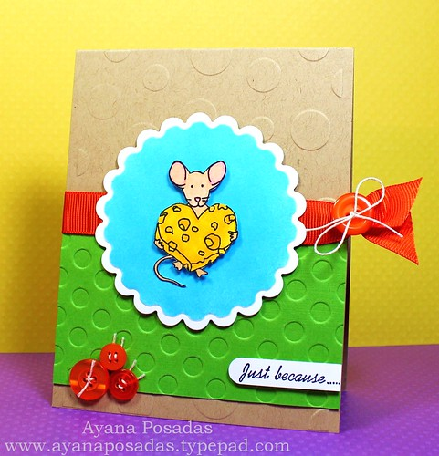 Cheesy Heart Mouse (2)