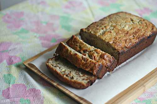 banana bread, baking illustrated