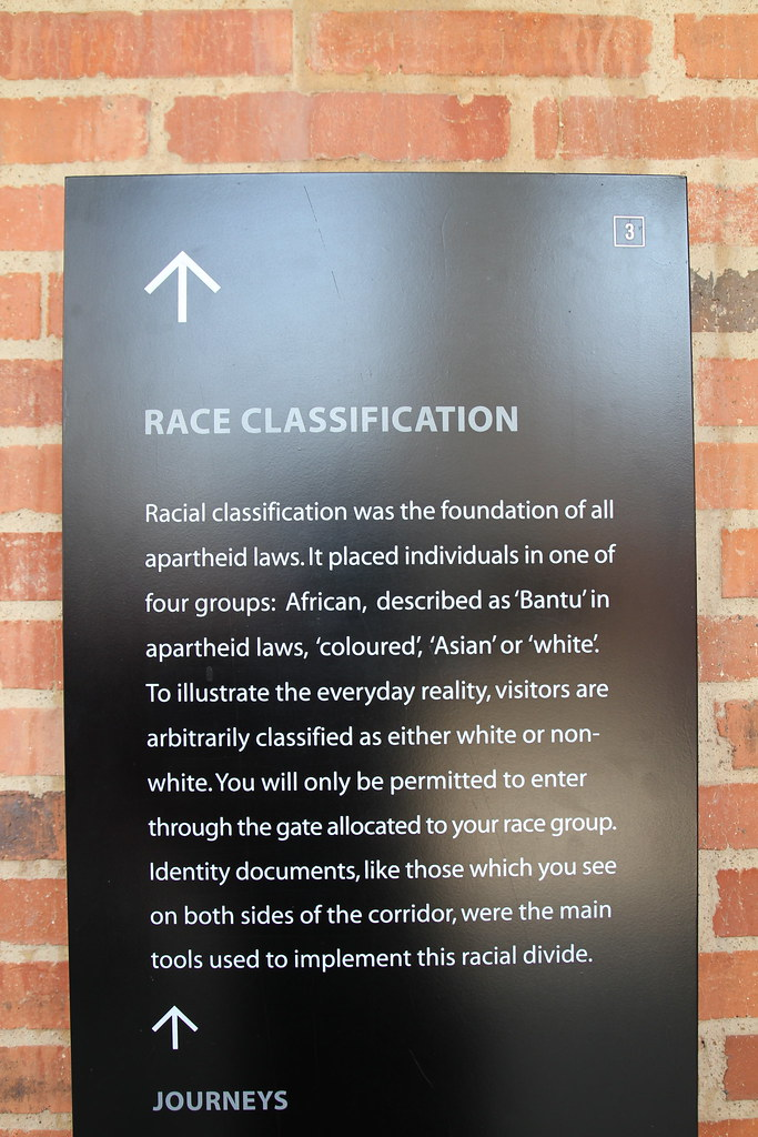 Race Classification under South African Apartheid