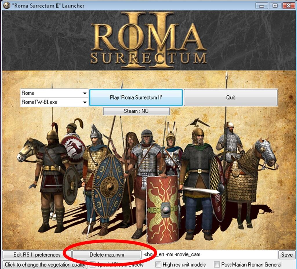 Roma Surrectum 2 para Rome Total War