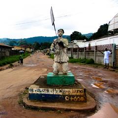 Remembering the dead in Kenema