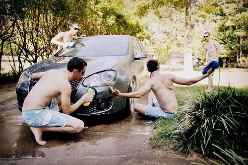 15/365 - Clones Cleaning Chris' Car