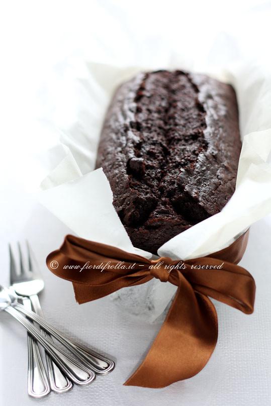 Cake alla birra scura e cioccolato
