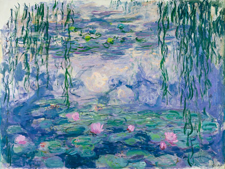 Claude Monet's waterlilies