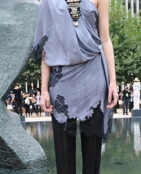 NYC Fashion Week 2010 inspiration Malandrino lace detailing