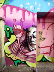 detail (mrzero) Tags: wall graffiti hungary character eger style turbo spraypaint zero mrzero