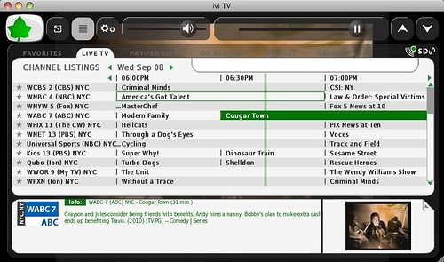 ivi.tv brings tv to your mac, pc, or linux
