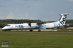 G-JECT - 4139 - FlyBe - De Havilland Canada DHC-8-402Q Dash 8 - 100909 - Luton - Steven Gray - IMG_9254