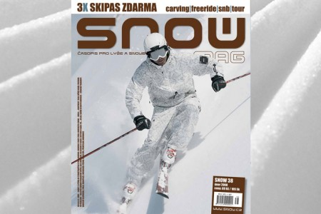 SNOW 38 + 3X SKIPAS ZDARMA + DVD SEARCH