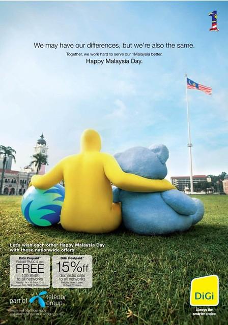 Digi 1Malaysia Ads