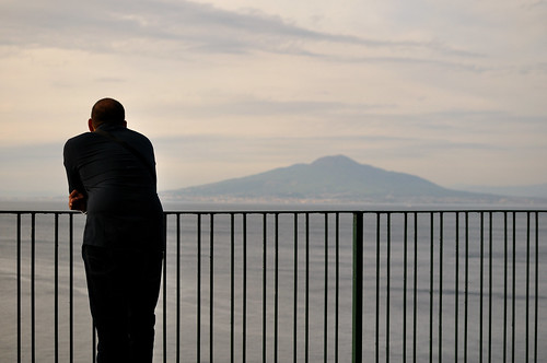 Contemplating Vesuvius