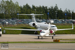 N855RB - 509 - Private - Gulfstream V - Luton - 100901 - Steven Gray - IMG_5628