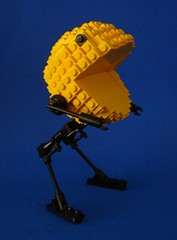 Pac-Man Walker (Profound Whatever) Tags: game video lego walker pacman bramsphere