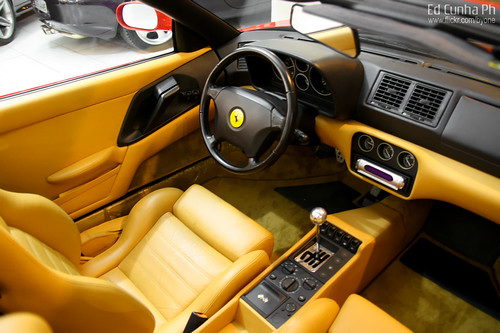 Ferrari F355 GTS Interior - a photo on Flickriver