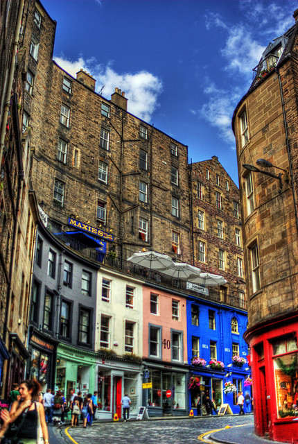Edinburgh...