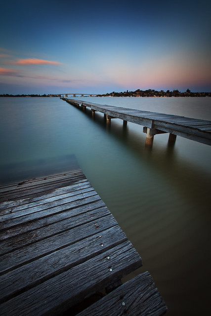 Gwawley Bay at Twilight