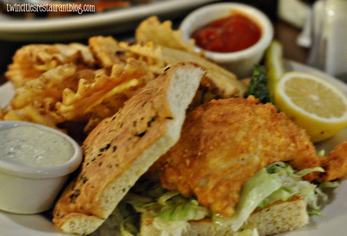 Walleye Sandwich at Tavern Grill ~ Blaine, MN