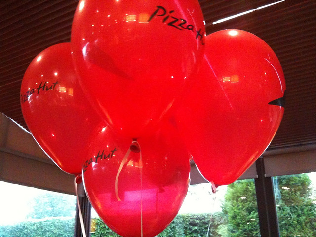 Pizza Hut Balloons