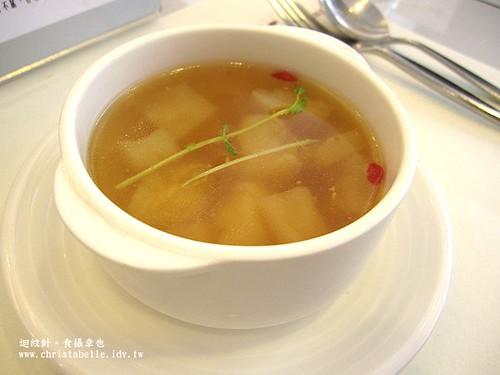 Su蔬食料理苦瓜清湯