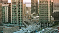if east was west (tomms) Tags: urban toronto skyline construction highway traffic explore condos frontpage pinnacle gardinerexpressway tgamcitystreetscapes