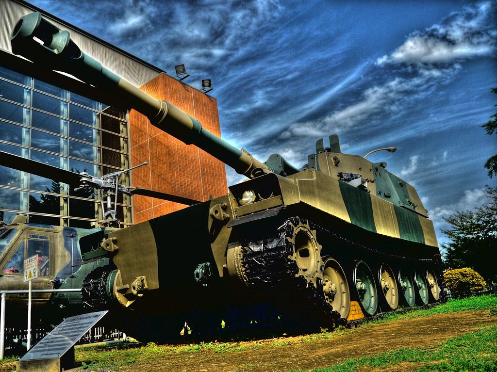 75式 自走155mmりゅう弾砲