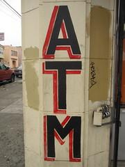ATM (Mission Street and Acton Street) (throgers) Tags: sanfrancisco california guesswheresf mission atm foundinsf acton gwsf threeforthursday gwsflexicon